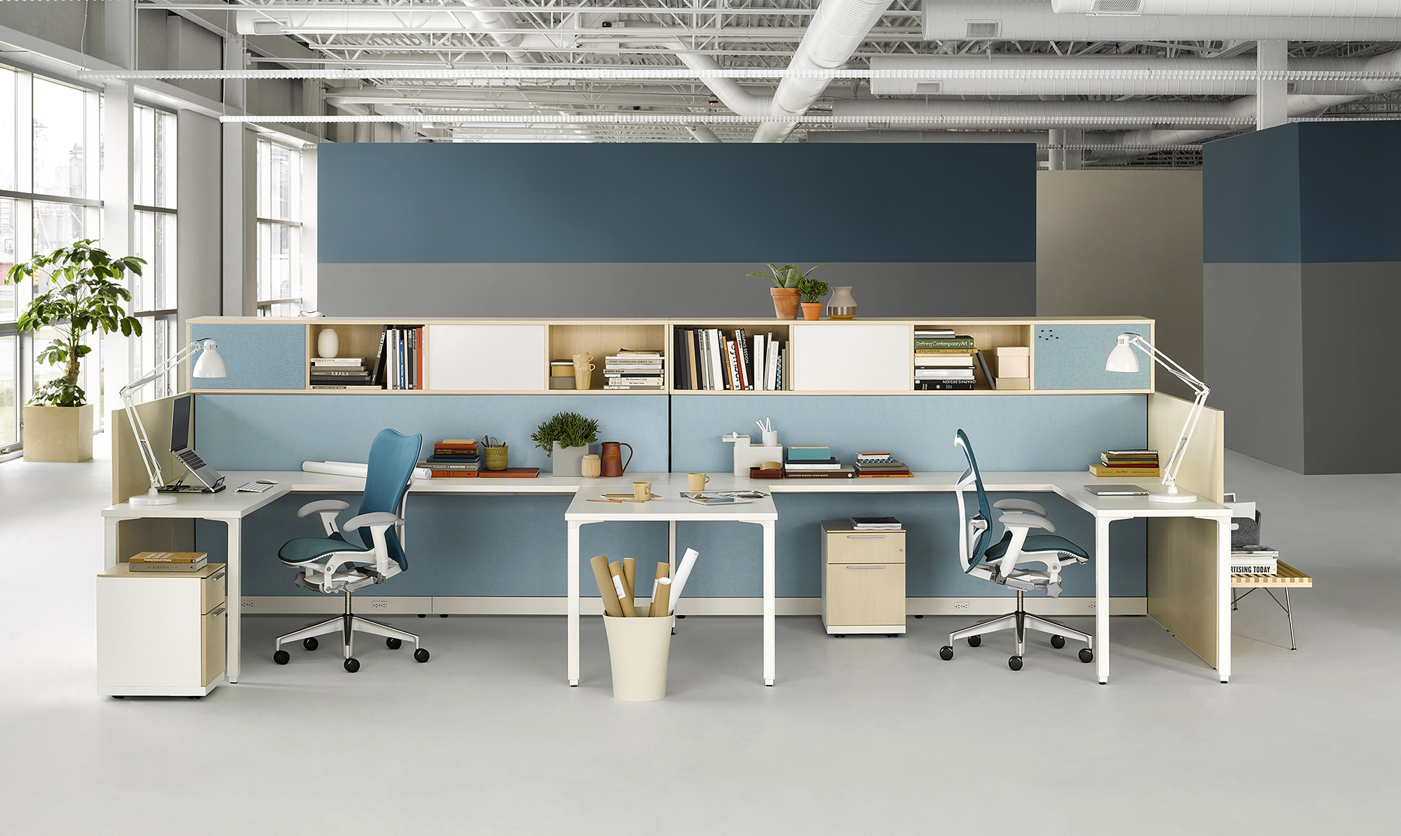 Reconfiguration alfred williams company for Office design outlet
