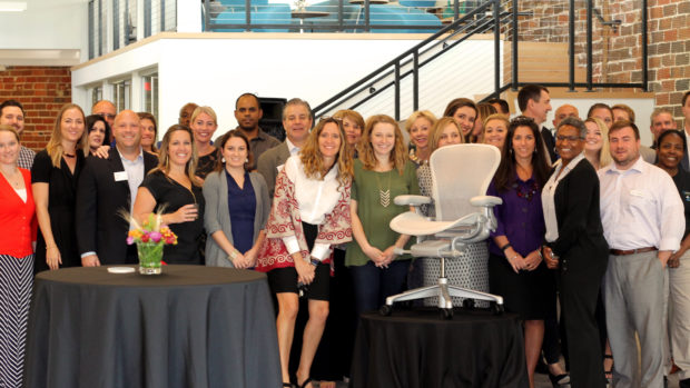Charlotte's Reveal Event for the Remastered Aeron Chair