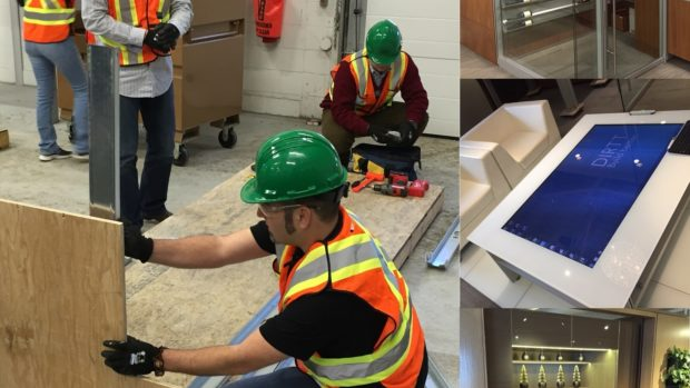 Interior Construction Designers at DIRTT