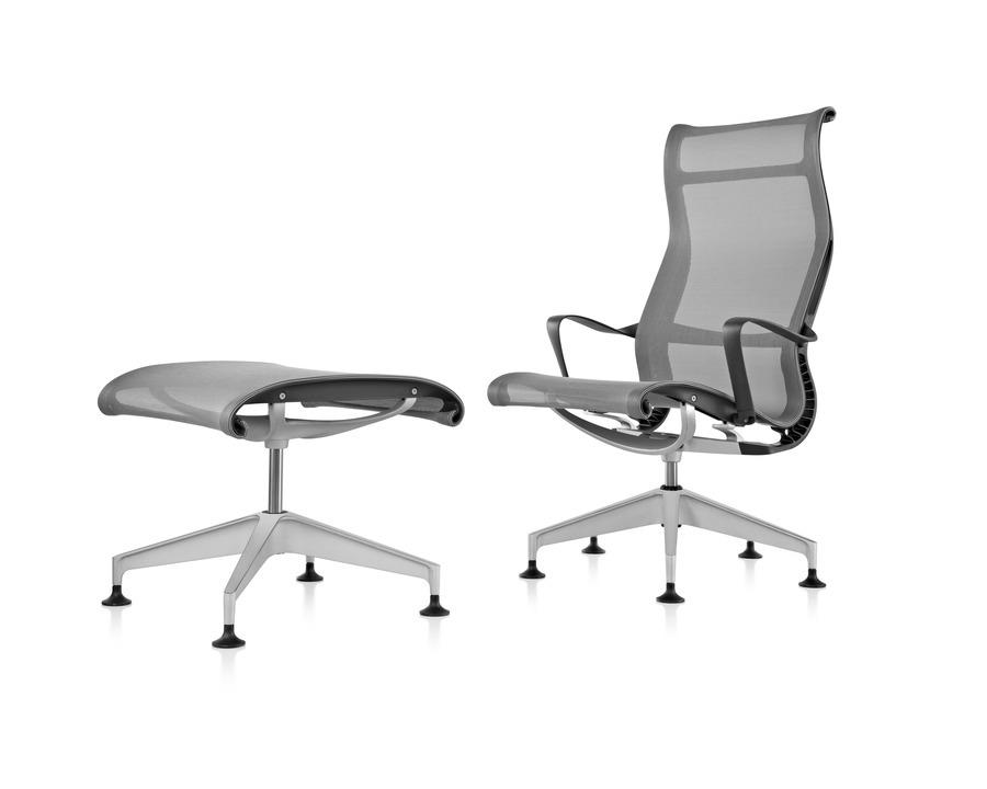 Setu Lounge Chair And Ottoman Alfred Williams Company