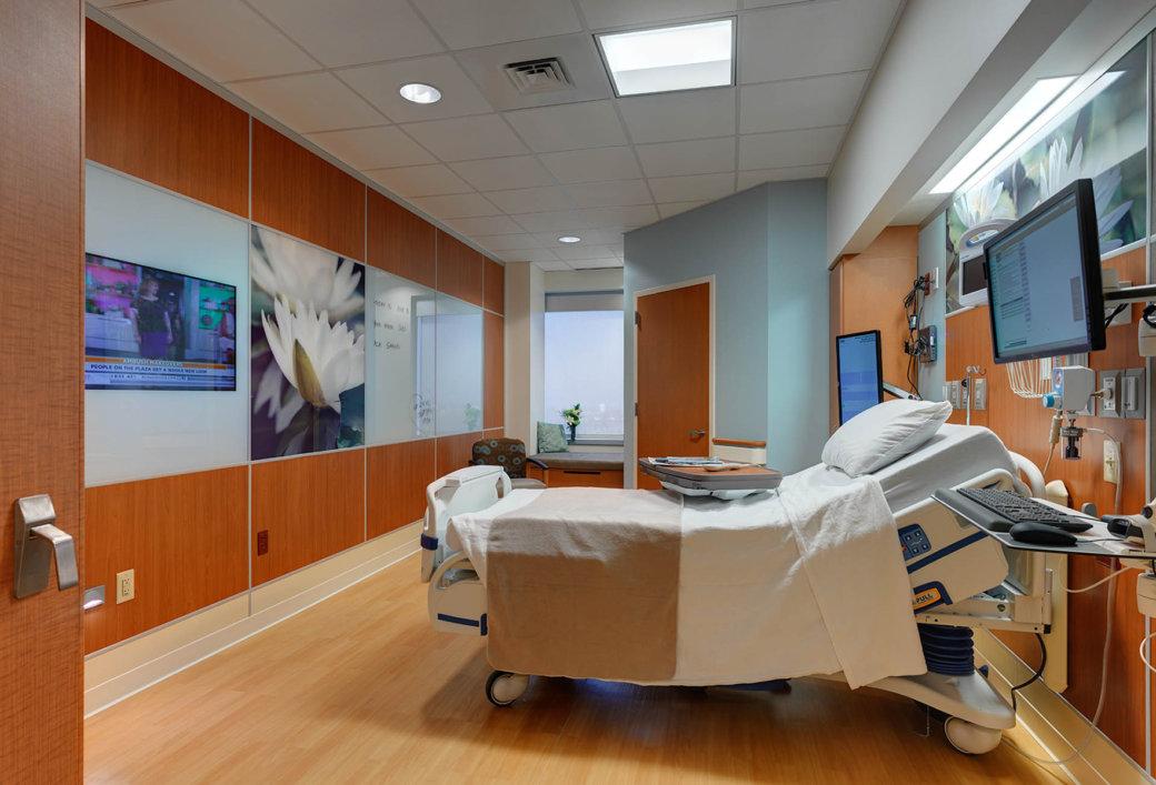 Dirtt Mercy Hospital Patient Room